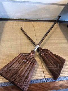 日本,畳,掃除,棕櫚箒