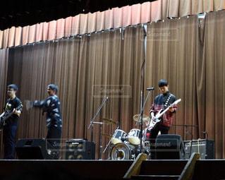 男子,音楽,高校生,バンド,ステージ,学園祭,初披露