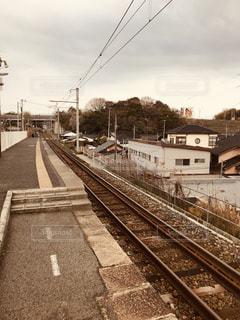 哀愁,駅,線路,田舎,フィルム,故郷,フィルム写真,フィルムフォト