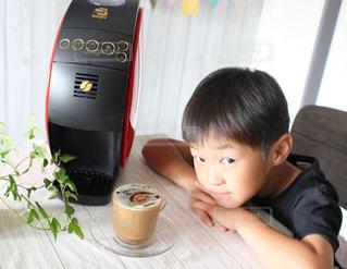 美味しいコーヒー入れてくれた三男...♪*゚の写真・画像素材[1452134]