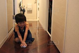 床ぶき掃除お手伝い...♪*゚の写真・画像素材[1487072]