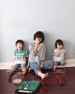 三男と次女とおうち遊びTime...♪*゚の写真・画像素材[2364255]