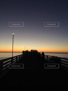 夕暮れ,America,sunset,サンセット,beautiful,pier,time stop