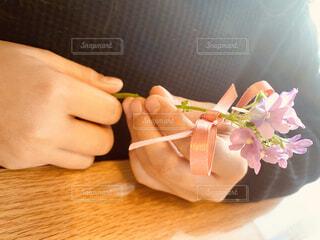 食べ物をテーブルの上に閉じるの写真・画像素材[3965188]