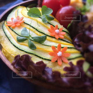 シマシマズッキーニ弁当の写真・画像素材[1281972]