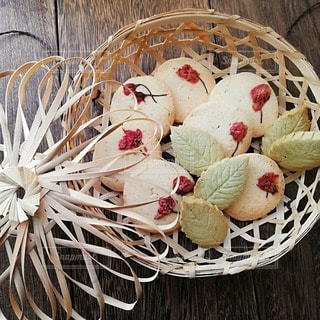 春の米粉クッキーの写真・画像素材[2992178]