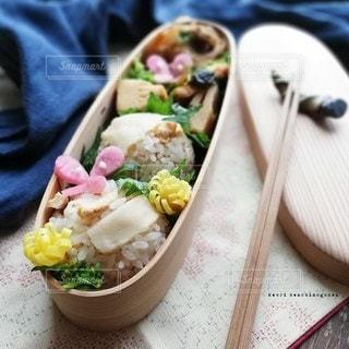 タケノコ尽くしのお弁当の写真・画像素材[3124746]
