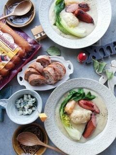 食べ物,食卓,ランチ,クリスマス,昼食,料理,ソーセージ,シチュー,夕飯,ライフスタイル,ジョンソンヴィル,冬を感じる
