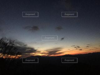 風景,空,夕日,雲,夕映え,十津川村,鳥みたいな