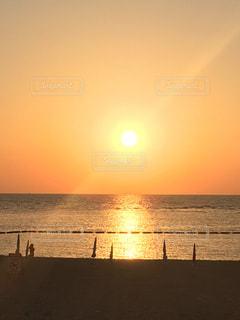 夕日,沖縄