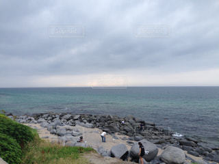 自然,海,空,海岸,眺め