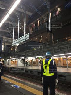 大阪,駅,警備