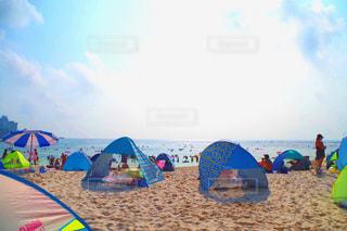 海,空,夏,太陽,ビーチ,砂浜