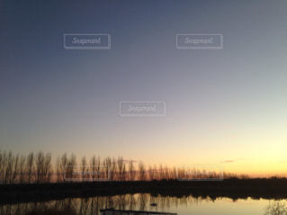 自然,夕日,海外,オーストリア