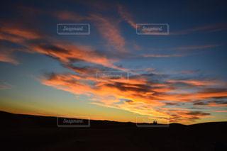 自然,夕日,海外,太陽,赤,夕焼け,夕暮れ,夕方,旅行,砂漠,モロッコ,トワイライト,サハラ砂漠