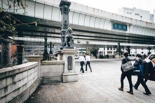 日本橋のビジネスマンの写真・画像素材[1659794]