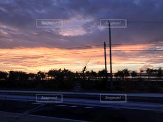 夕日,沖縄,サンセット,ドライブ