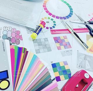 勉強,色彩