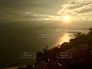 自然,海,空,夕日,絶景,海岸,景色,夕焼