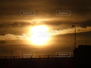 空,夕日,太陽,綺麗,晴れ,夕焼け,日差し