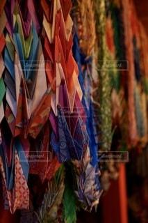 折り鶴に込めた祈りの写真・画像素材[2763219]