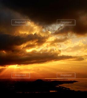 自然,風景,空,屋外,太陽,雲,夕暮れ,水面,光,琵琶湖