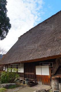 合掌造りの家屋の写真・画像素材[2881153]