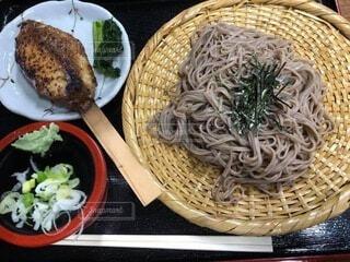信州の素朴な食事の写真・画像素材[3855073]