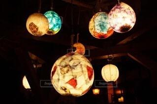 夜,夜景,夜空,景色,灯り,旅行,照明,和紙,鳥取,伝統工芸