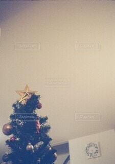 おうちのクリスマスツリーの写真・画像素材[3987763]