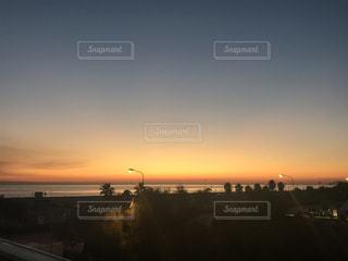 海,空,夕日,海外,太陽,反射,イタリア,夕陽,西洋,海外旅行,ボローニャ