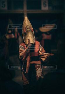 平成最後の夏の盆踊り‼️の写真・画像素材[1426136]