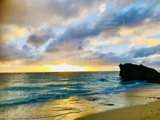 自然,海,空,ビーチ,雲,夕焼け,夕暮れ,海岸,沖縄,電線