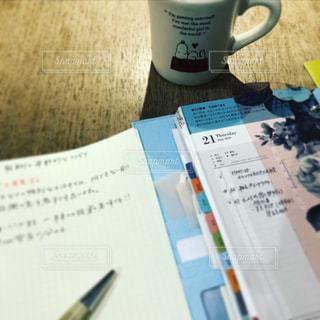 ノート,珈琲,勉強,手帳,方眼紙