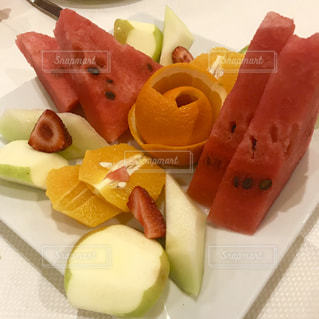 スイカ,オレンジ,フルーツ,果物,すいか,夏の果物,暑さに負けるな