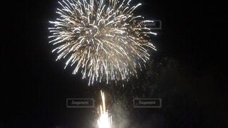 空に花火の写真・画像素材[1310323]