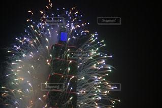 台北の年越し花火の写真・画像素材[1311041]