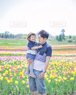 お父ちゃん大好き♡の写真・画像素材[2246178]