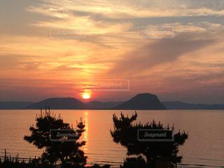 海,空,綺麗,夕焼け,海岸,夕陽,唐津市