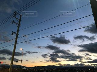 夕日,フォトジェニック,色・表現,都会での一枚