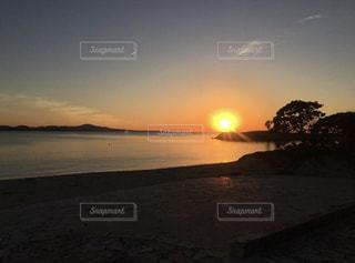 夕日,太陽,美しい景色,沖縄の海,フォトジェニック