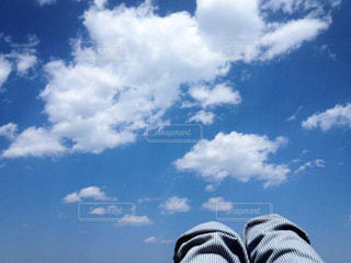 みあげた空の写真・画像素材[1348477]