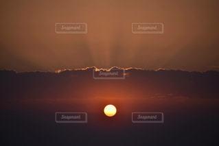 海,空,夕日,太陽,オレンジ,江ノ島