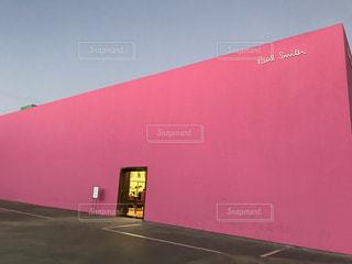 ピンク,ロサンゼルス,pink,メルローズ,ピンクウォール