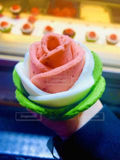 バラのアイスの写真・画像素材[2393619]