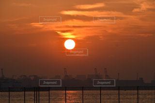 風景,太陽,夕暮れ