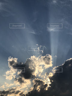 自然,風景,空,雲,夕暮れ,山