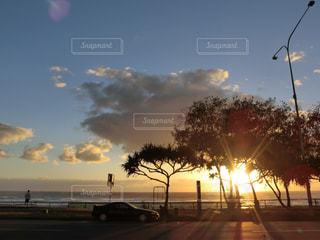 夕日,オーストラリア,夕陽,sunset,サンセット,Australia,ゴールドコースト,Gold Coast