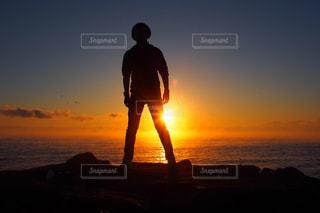 空,夕日,きれい,鹿児島