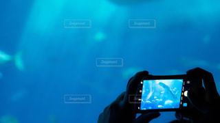 水の中の水の写真・画像素材[1433096]